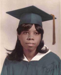 Joanne Richardson, graduation 1968