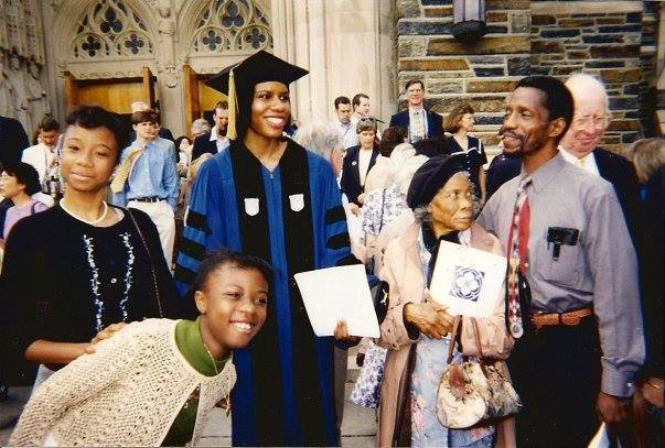 Graduation Day at Duke in 1999
