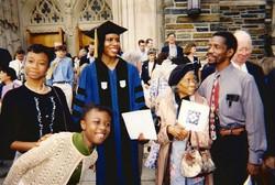 Graduation Day at Duke in 1999