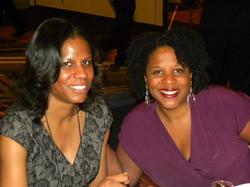 RR and Tayari Jones, CLA 2012