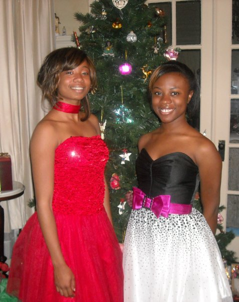 Keri and Megan Christmas Day