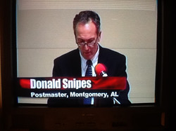 Postmaster Donald Snipes