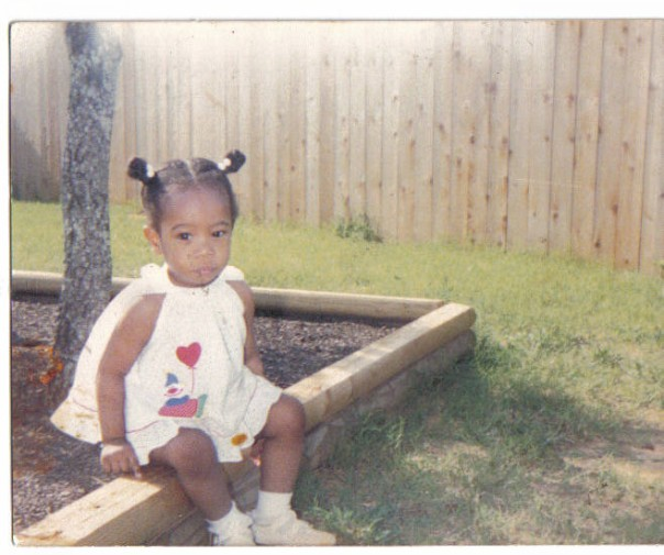 Keri Smith as a toddler