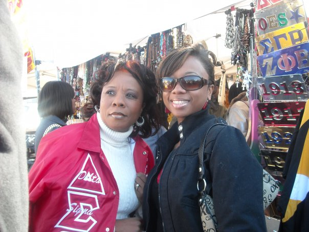Megan and Pam, Delta sorors