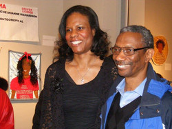 Riché Richardson & Dr. Henry Johnson