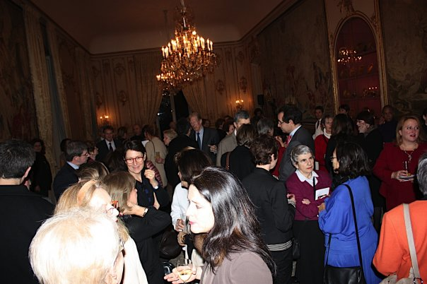 The Reception at the Ambassador's