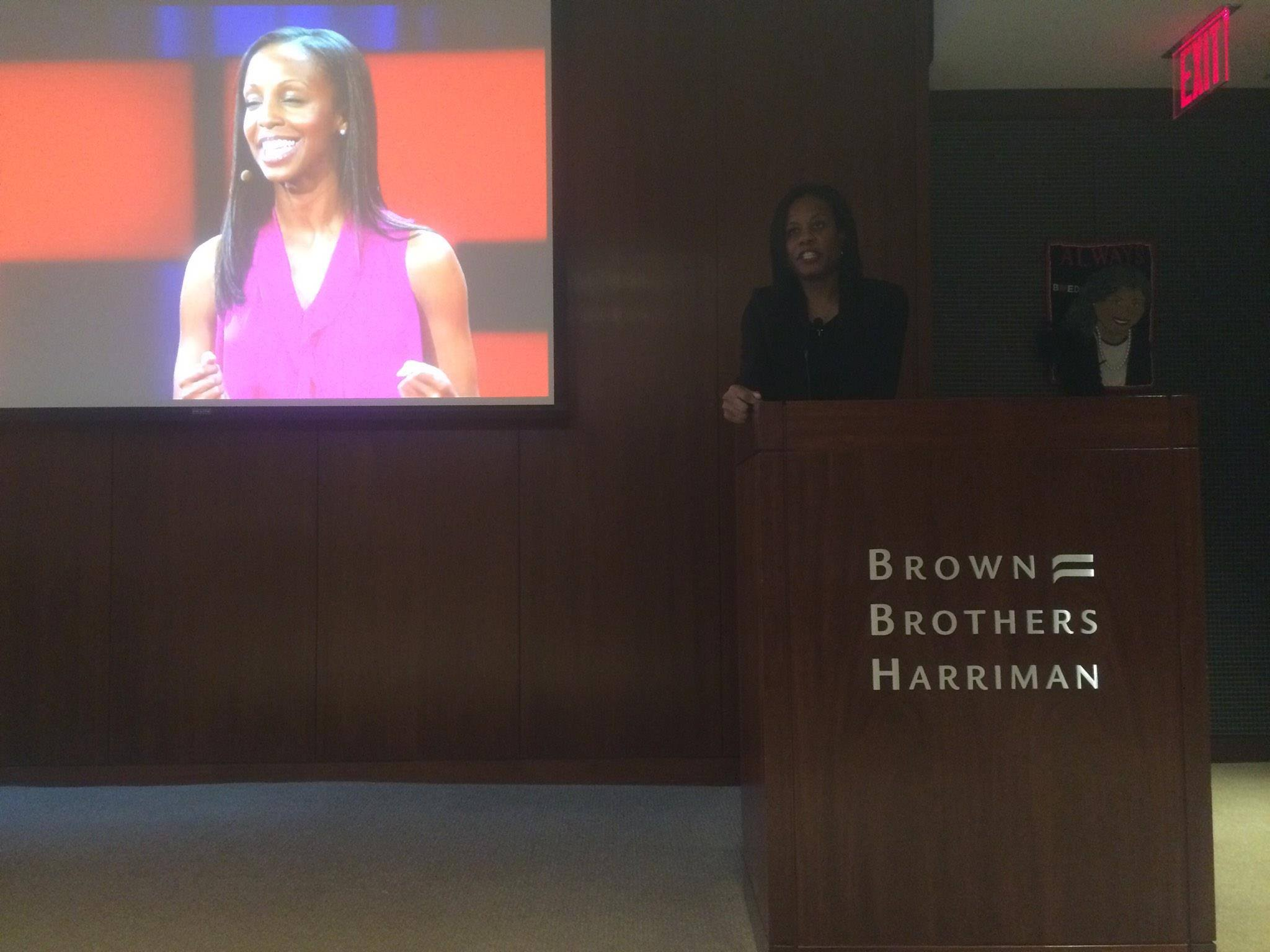 Speaking at Brown Brothers Harriman