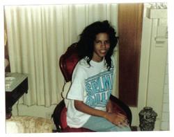 Age 18, freshman year at Spelman