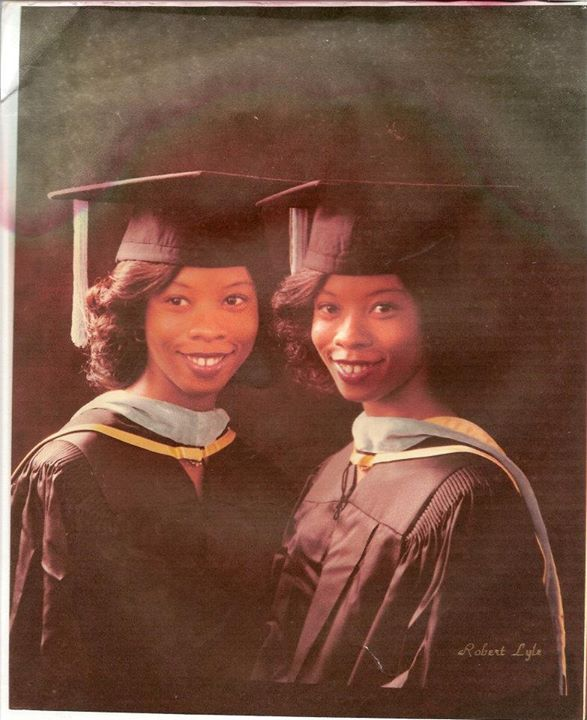 From Pam's graduation on award of Masters degree, Alabama State University