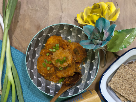 Pearls of rice with tomato sauce – Recipe of a flower's tears
