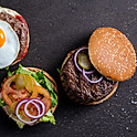 Signature Blend beef burger