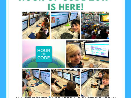 Hour of Code 2019 is here!