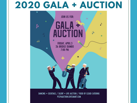 PS29 Gala + Auction, Friday, April 3rd