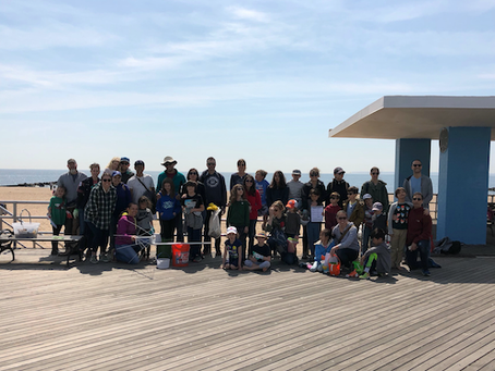 PS 29 Beach Clean Up Collected over 2,000 Pieces of Plastic!