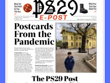 PS29 Post: Quarantine Edition!