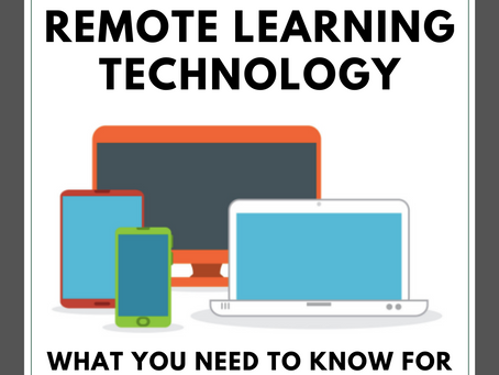 Remote Learning Technology