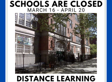 Schools are Closed, Distance Learning Coming Soon