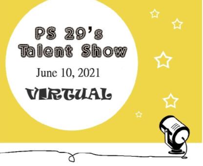 PS29's 2021 Virtual Talent Show!