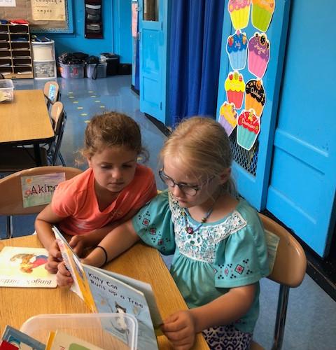 Reader's workshop at PS 29