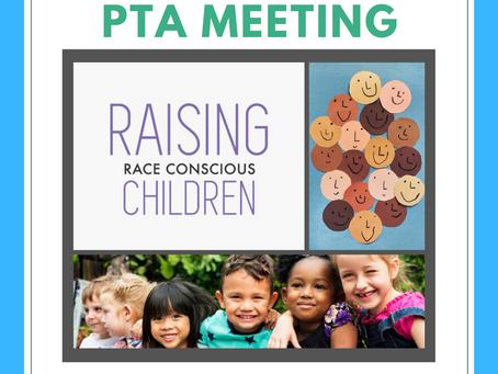 PTA Meeting Thursday, January 16th