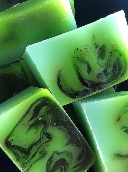 Peppermint Handmade Soap Bar
