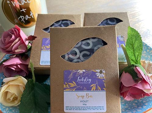 Violet Handmade Soap Bar