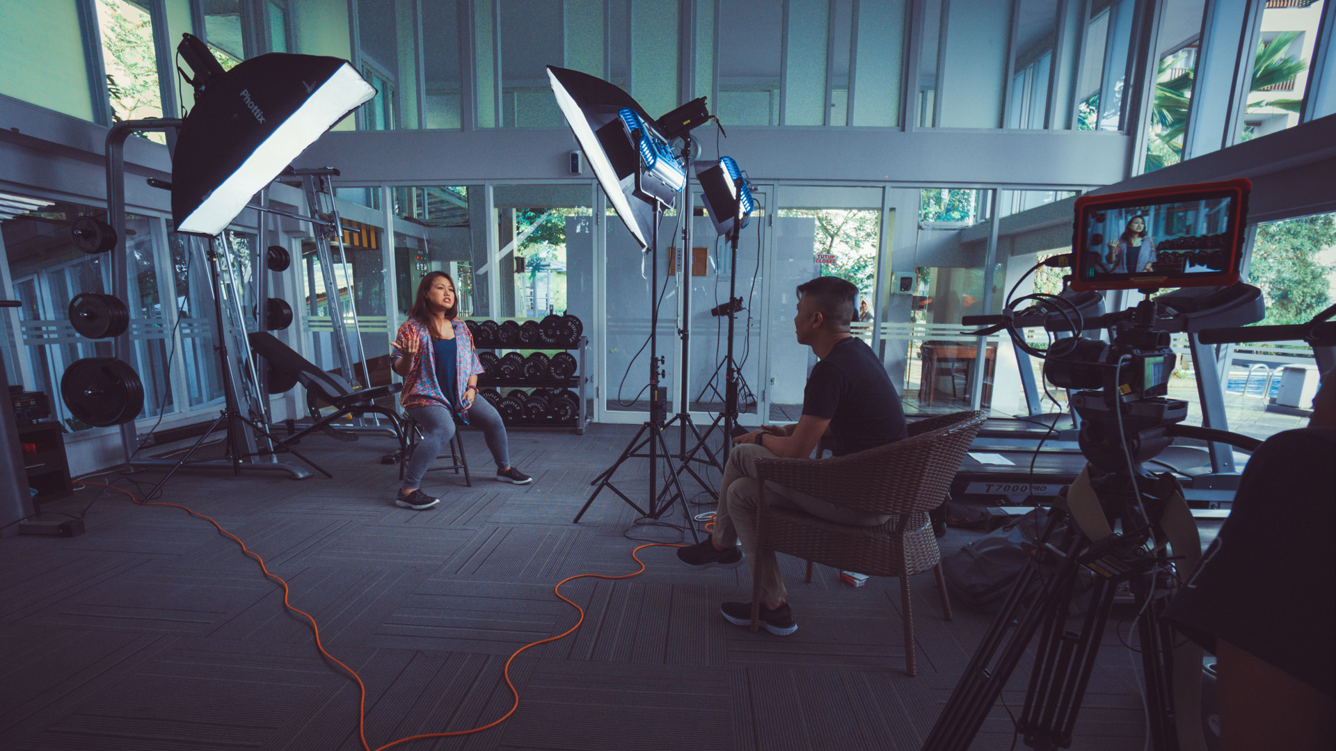 Video Interviews + B Rolls Filming