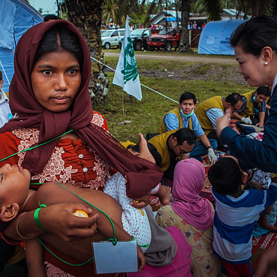 The Dangerous Journey of Rohingya Refugees