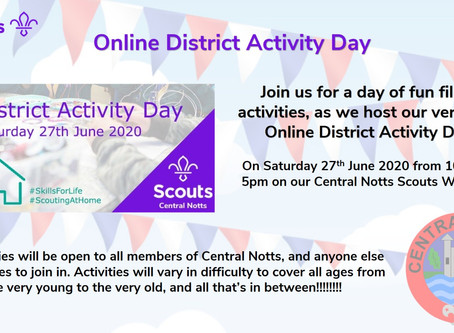 Online District Activity Day