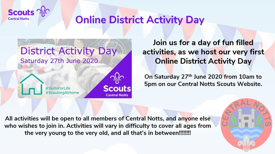 Online District Activity Day