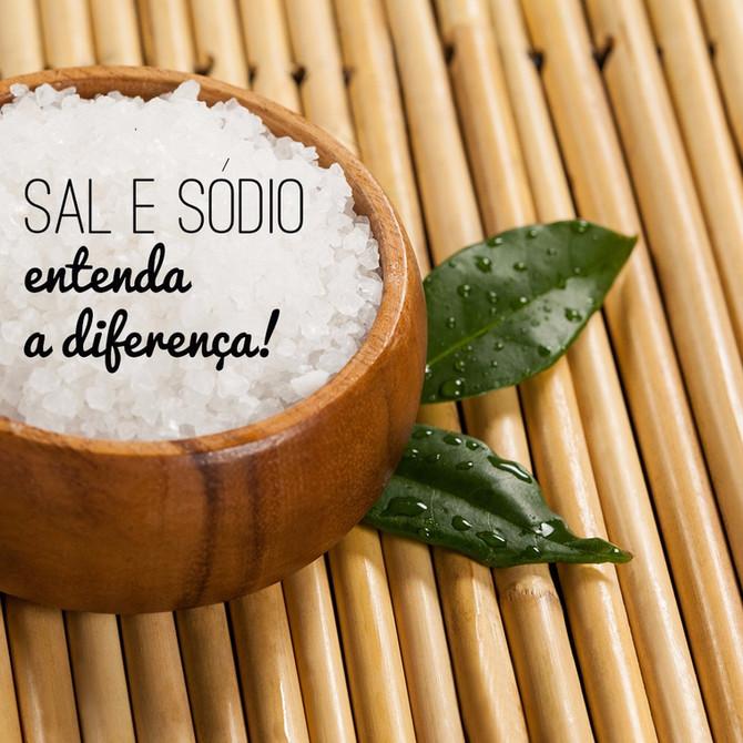 Sal e Sódio | Entenda a Diferença