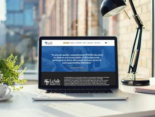 La Salle Robotics Publishes New Website