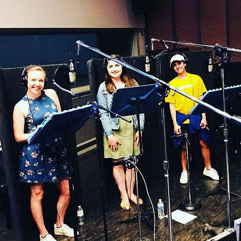 Sami Weathersby, Shaila Murdock, and Griffin Bunch