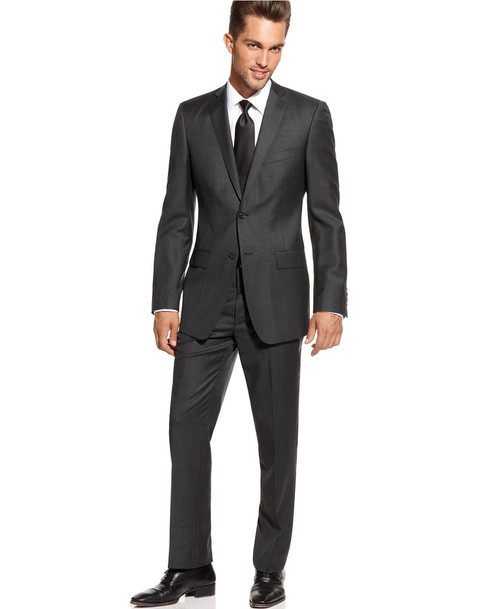 Essential charcoal grey suit | Home | DapperManSuits