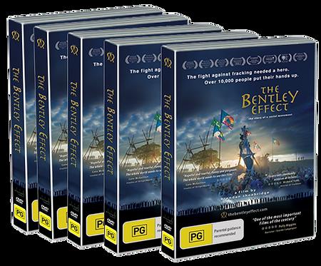The Bentley Effect DVD* x5 Pack