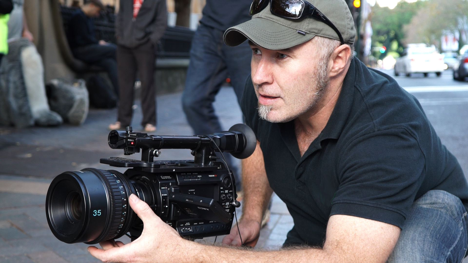 B Filming Sydney Rally
