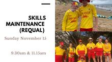 Skills Maintenance (requalification)