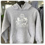 Grey Marle Hoodie $65