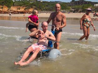 Beach access now easier