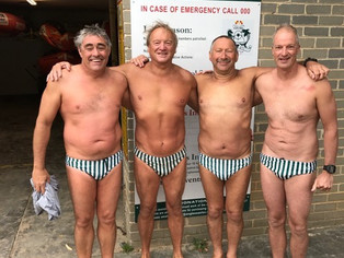 Anglesea four taking on Rottnest Channel swim need your support