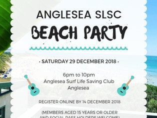 Register now for our Club Beach Party