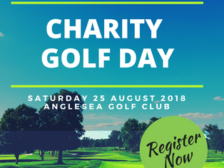 Charity Golf Day 2018 - Entries Open