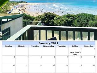 ASLSC 2021 Wall Calendar