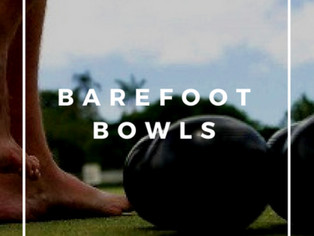 Barefoot Bowls and Adventure Race!