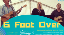 Live Music Fundraiser - 6 Foot Over
