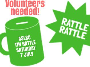 Tin rattle volunteers needed