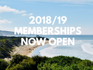 Memberships for 2018/19 now open
