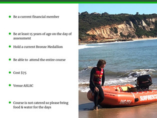 Inflatable Rescue Boat Crew Course