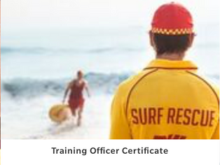 Training Officer Certificate State Run Courses