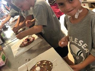 Chocolate Lollipop Making!